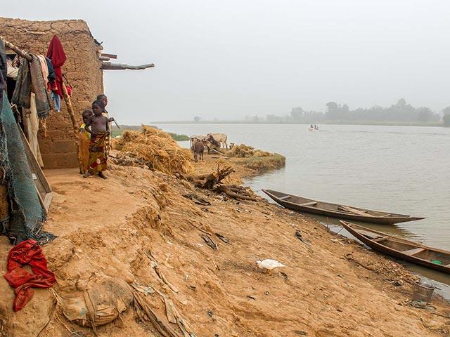 Benin floods in 2015