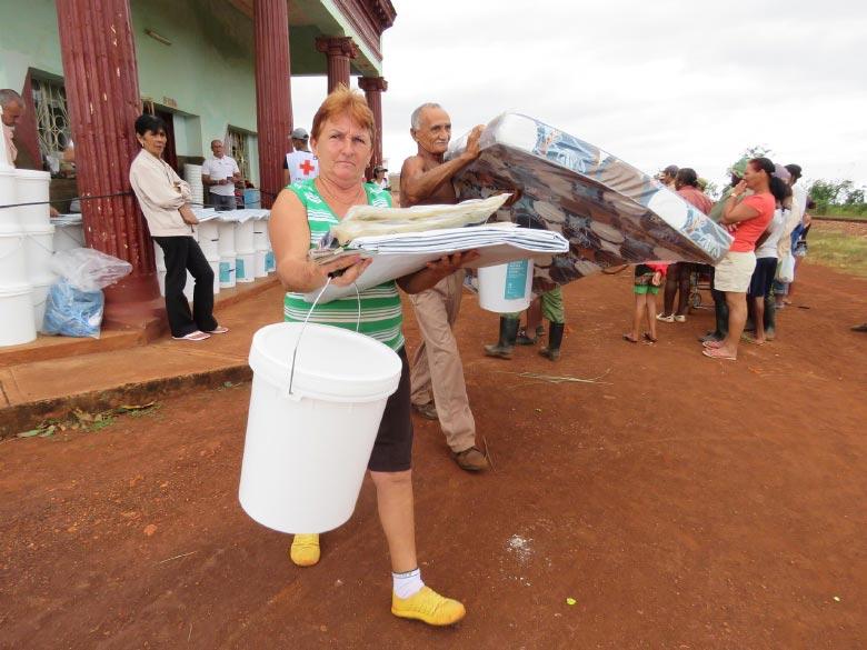 Hurricane Irma hit Cuba in 2017