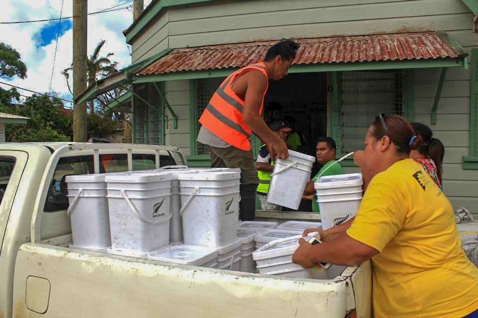 Aid for survivors of Cyclone Gita in Tonga