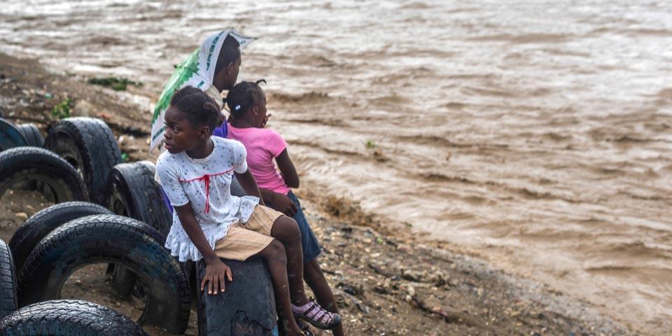 Hurricane Matthew caused massive floods in Haiti