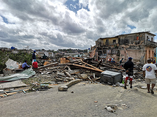 Havana Cuba hit by tornado in 2019