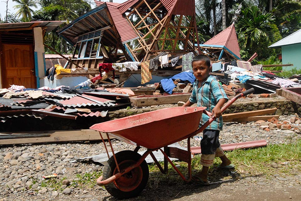 The Humanitarian Coalition launched an appeal Asia-Pacific disasters in 2009
