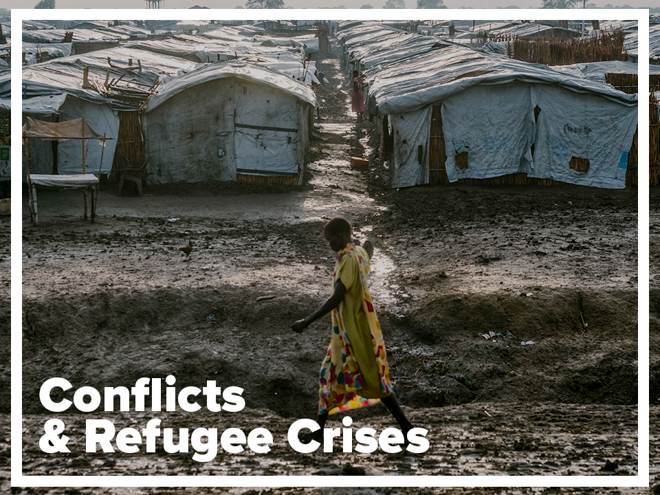Conflict and refugee crises page
