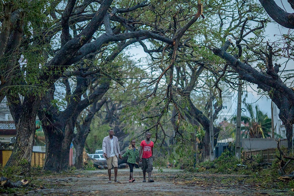 The Humanitarian Coalition launched an appeal for Cyclone Idai in Mozambique