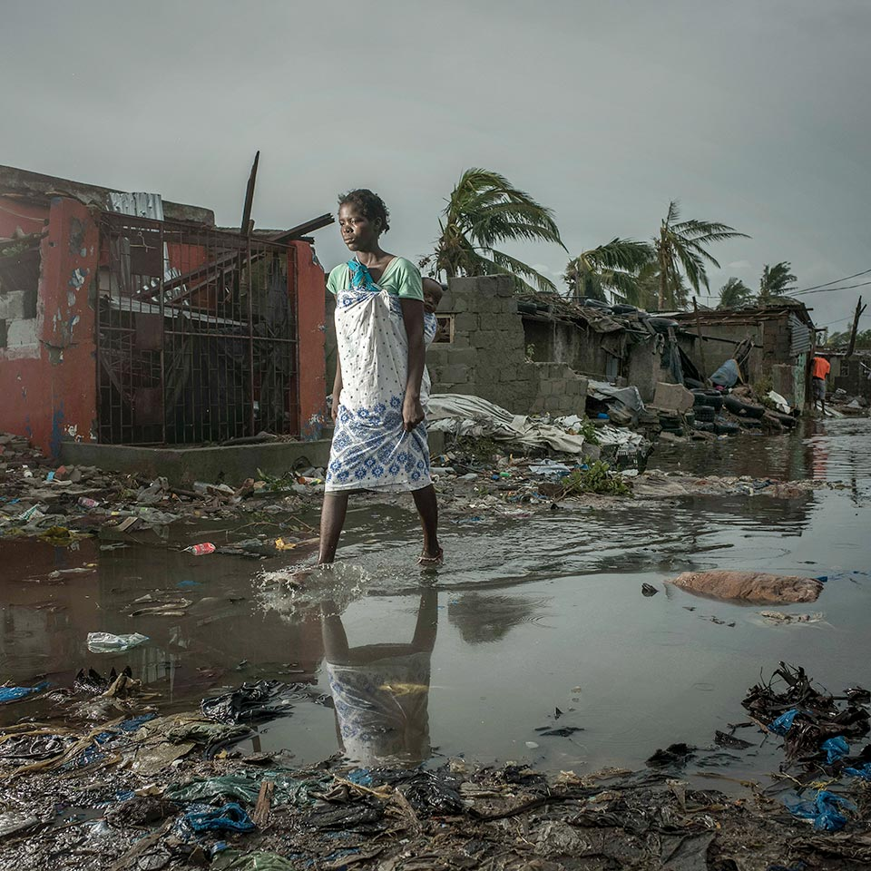 Cyclone Idai hit Mozambique