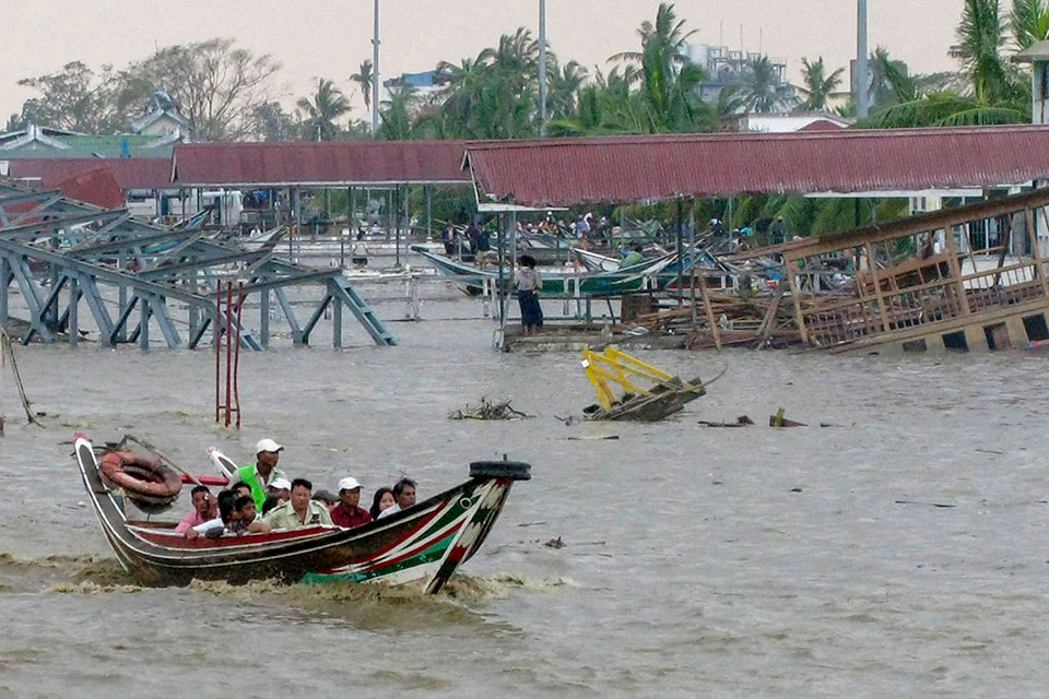 A campaign was launched by the Humantarian Coalition after Cyclone Nargis in 2008