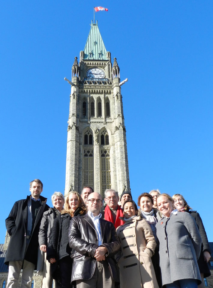 Emergency Appeals Alliance members at their annual meeting in October 2013 - Ottawa, ON