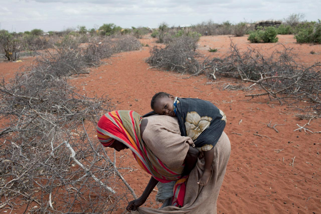 Humanitarian emergency for East Africa Drought victim
