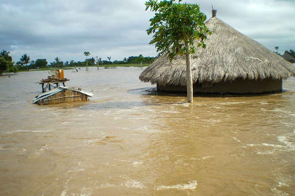The Humanitarian Coalition launched an appeal for floods in Southern Africa in 2008