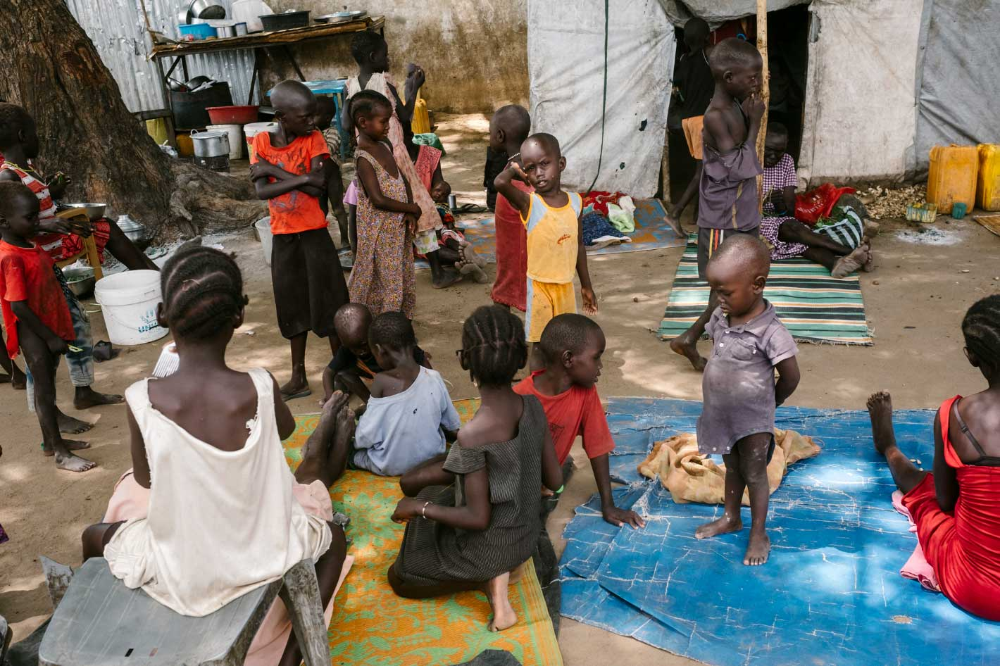 children and food crisis in South Sudan