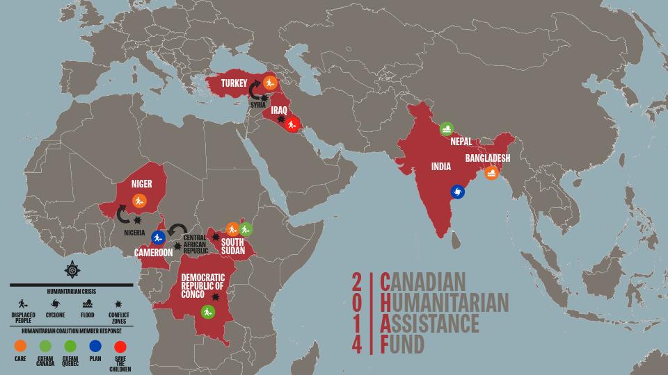 CHAF map 2014