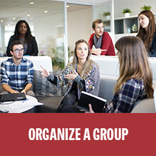 Organize a fundraising group