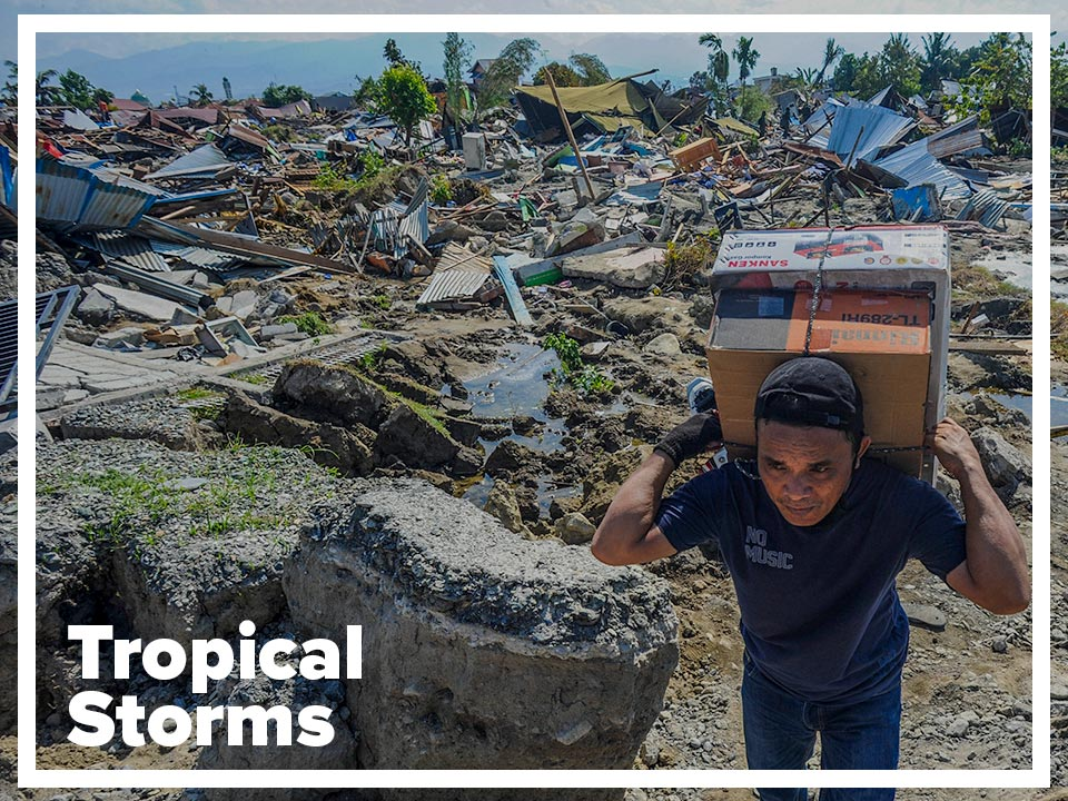 Tropical storms page
