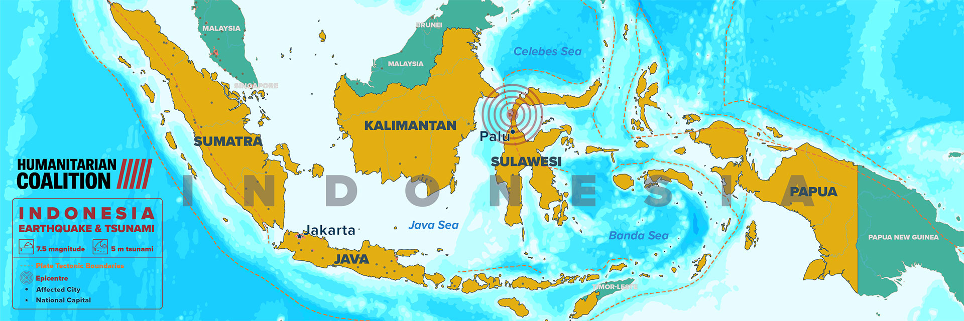 Indonesia Quake and Tsunami | Humanitarian Coalition