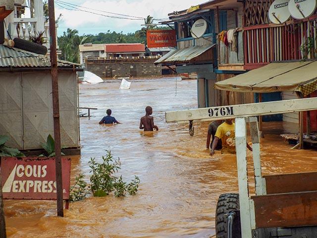 Cylone Enawo hits Madagascar