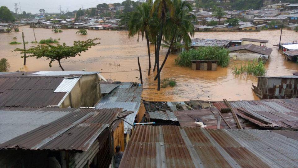 Mudslides Sierra Leone