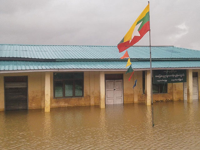 Myanmar Floods in 2016