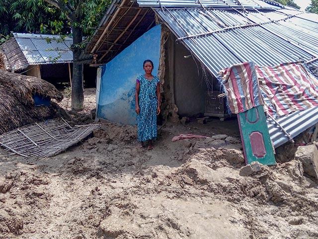 Nepal hit by floods in 2018