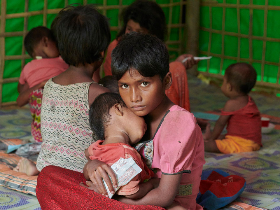Rohingya Crisis in Myanmar - Ruzi