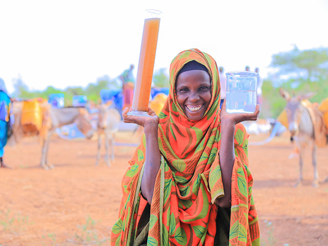 Water aid in Ethiopia