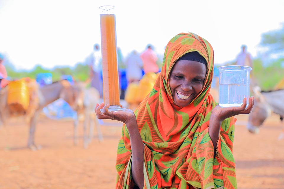 Clean water in Ethiopia