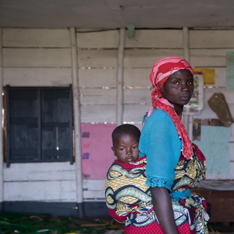 Congolese refugees in Uganda