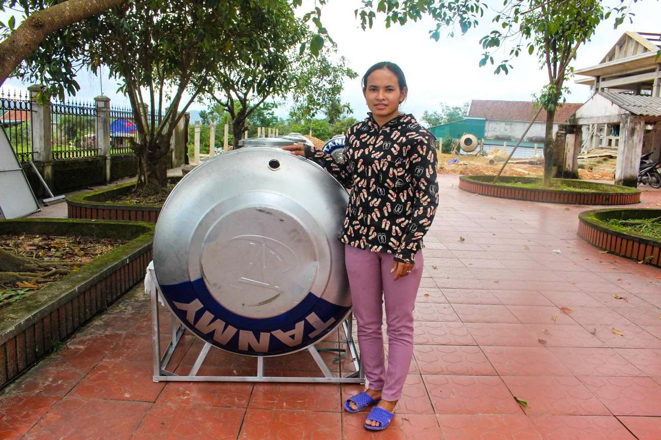 Water Tank Distribution Provides Stable Water Supply